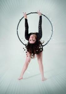 Hula-Hoop-Artistin Valerie Hormes