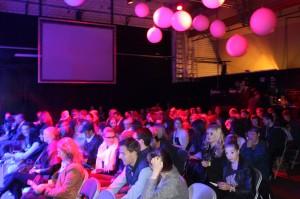 Bühnensaal der Künstlermesse AlsterKult