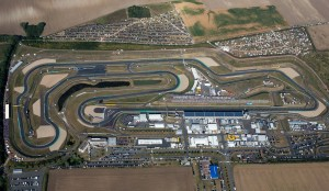 Das Areal der Motorsport Arena Oschersleben aus der Luft