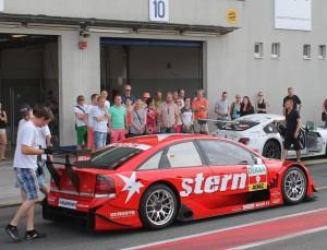 Das Renntaxi der Motorsport Arena Oschersleben