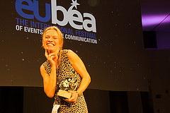 Glückliche Gewinnerin EuBEA 2014