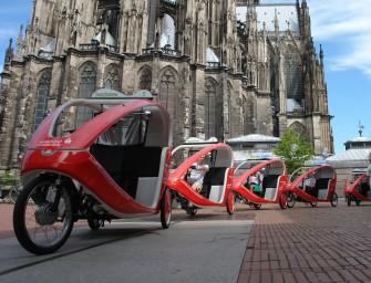 perpedalo: Stylische CityCruiser auf Promotion-Tour