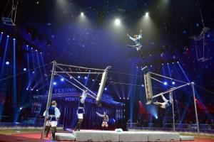 Die Truppe Pronin aus Russland beim Internationalen Circusfestival von Monte Carlo (Foto: Charly Gallo)