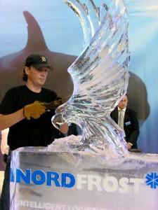 Eisfiguren von Eisdesigner Birekoven