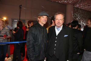 Campino und Dr. Jens Michow beim LEA-Award 2015