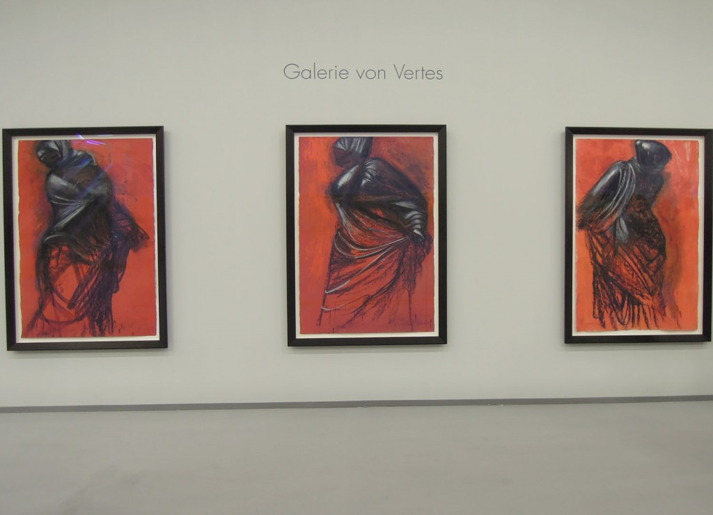 Jim Dine, Three Red Dancers, Galerie von Vertes