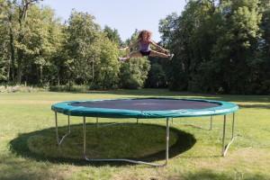 Jumping Star: Trampoline eignen sich auch hervorragend als Fitnessgeräte