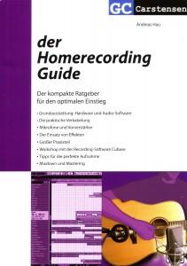 Demoaufnahmen leicht gemacht mit Hau der Homerecording Guide