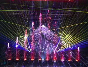 Lasershow mit Wow-Effekt von Laserworld