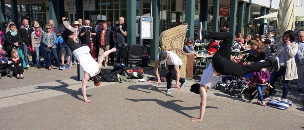 Tridiculous auf dem Kleinkunstfestival