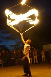 fenfire aus Österreich auf dem Kleinkunstfestival