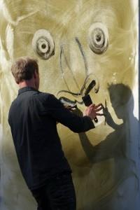 Sonderpreis für den Maler pinx