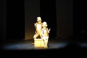 Das Duo mute beim Kleinkunstfestival
