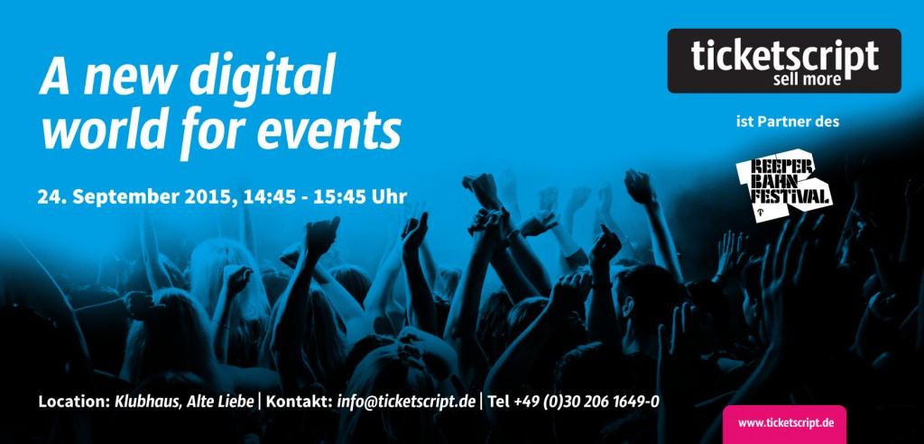 Self-Service-Ticketing-Anbieter ticketscript beim Reeperbahn Festival 3