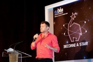 Live-Präsentation in Sevilla beim EuBea Festival 2014