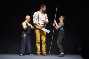 Mit viel Gefühl ziehen die Artisten die Zuschauer in den Bann; Foto: Sandra Schuck