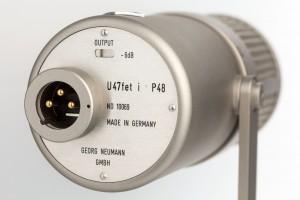 Universalmikrofon Neumann U 47 fet