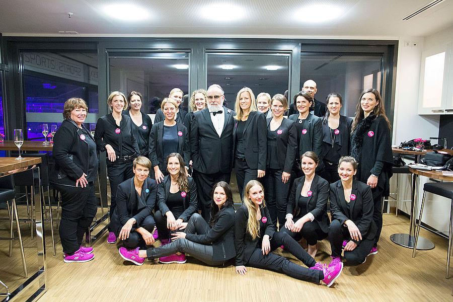 Das Team von EVENTUALITY zusammen mit Friedrich Liechtenstein