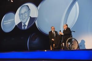 Hans-Dietrich Genscher beim Deutschen Nachhaltigkeitspreis