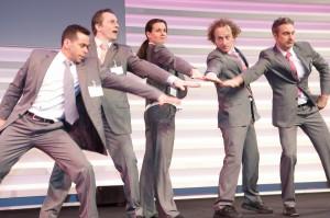 Schattentheater und Unternehmenstheater von den Mobilés aus Köln
