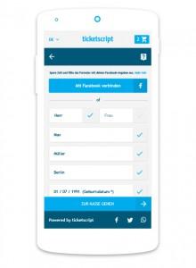 Online-Ticketing ticketscript