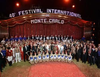 Internationales Circusfestival von Monte Carlo feiert 40. Jubiläum