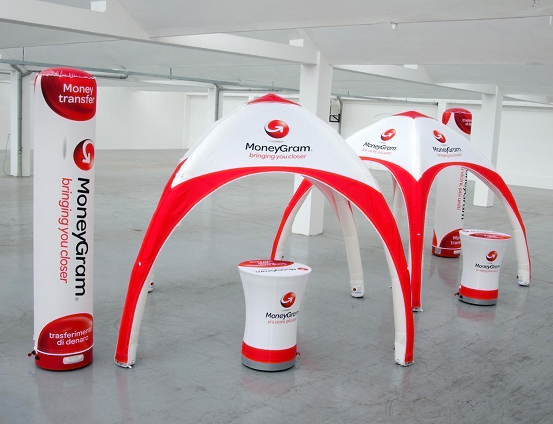 Aufblasbare Möbel und Inflatables von no problaim