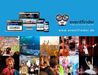 eventfinder – Der praktische Veranstaltungskalender für alle Events