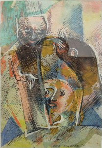 Art Cologne Hanna Höch, Der Magier 1930