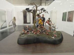 Art Cologne Jake und Dinos Chapman, Little Miss McMuffet Sat on Her McTuffet, 2015