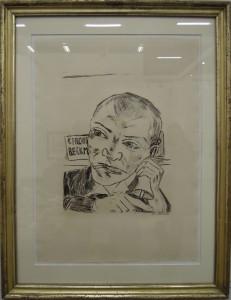 Art Cologne Max Beckmann, Der Ausrufer, 1921