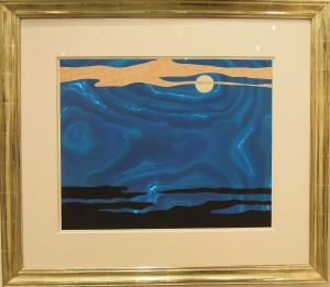 Art Cologne Roy Lichtenstein, Moonscape, 1965