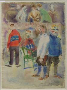 Art Cologne Rudolf Schlichter, Sechstagerennen, 1928 - 1930