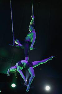 Duo Elle Et Lui - Duo Trapeze Guillaume Mesmin (Frankreich) Anouk Blias (Kanada)