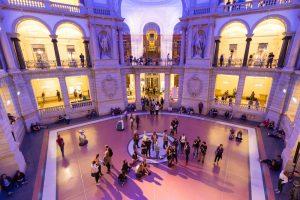 Lange Nacht der Museen im Historische Eventlocation: Museum für Kommunikation Berlin. ©MSPT, Foto: Sandra Wildemann