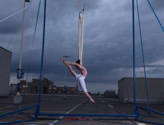 Artist Bence Baumann träumt vom Auftritt im Cirque du Soleil