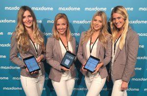 Digitale Gästelisten auf dem iPad