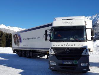 """Mietmöbel von Event Rent auf """"Art on Ice""""-Tour"""