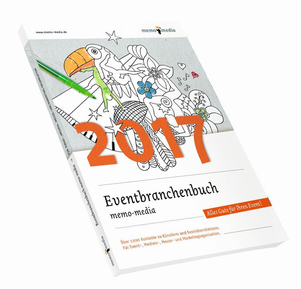 Eventplanung mit dem Eventbranchenbuch von memo-media leicht gemacht