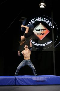 safety-in-action-buehne stage|set|scenery