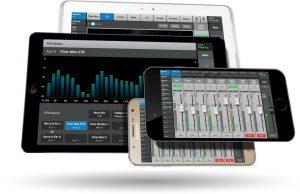 Das TouchMix-30 Pro lässt sich auch vom Smartphone steuern