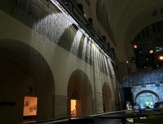 Grafische Wasserwände für Messestände und Events von as systems