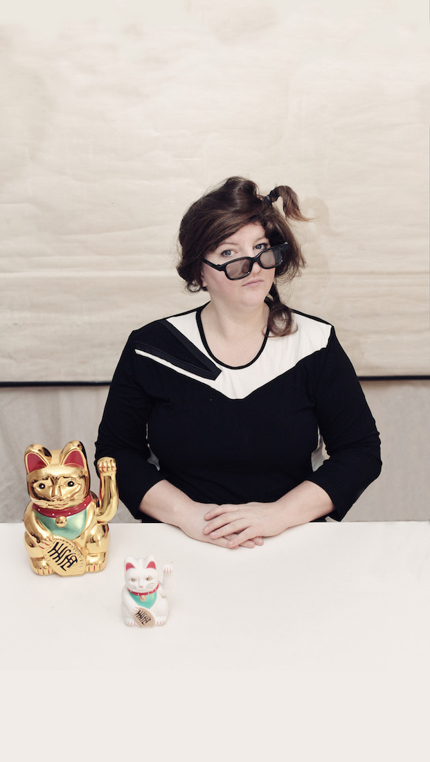 Anna Mateur im Porträt
