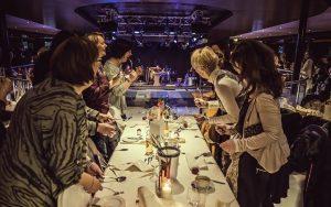 Dinner Drumming von SynergyBeats als musikalisches Unterhaltungsprogramm