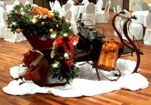 Themendeko für die nostalgische Weihnachtsfeier