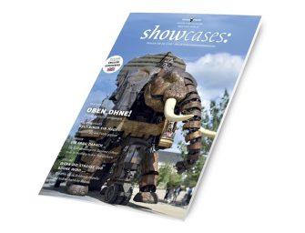 Straßentheater & Tagungsorte in der neuen Ausgabe von showcases