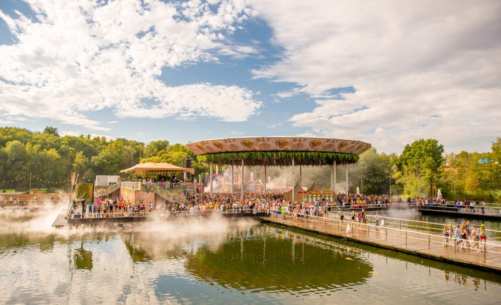 Temporäre Bauten Tomorrowland