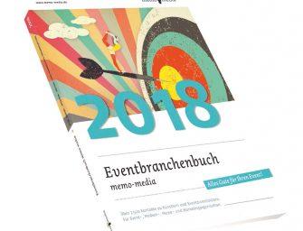 Eventplanung mit dem Eventbranchenbuch 2018