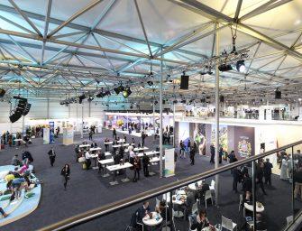23. UN-Klimakonferenz in Bonn 2017 – temporäre Gebäude von Neptunus