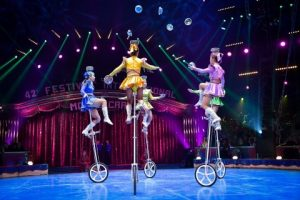 beim Circus-Festival Monte-Carlo 2018